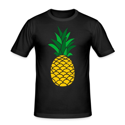 Colored Pineapple Clothing Collection - Men's Slim Fit T-Shirt