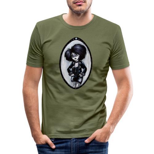 Trad Goth Art by E. R. Whittingham - Men's Slim Fit T-Shirt