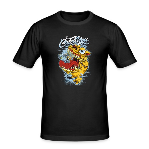 Catch you - Slim Fit T-skjorte for menn