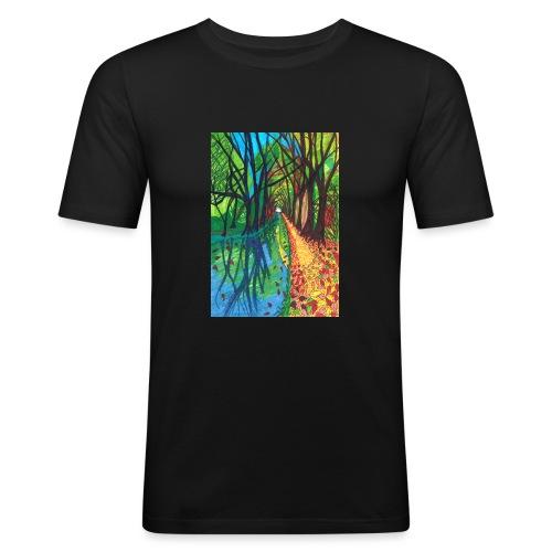 Canal Walk - Men's Slim Fit T-Shirt