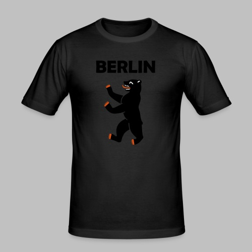 BERLIN - Berliner Bär (Vektor) - Männer Slim Fit T-Shirt
