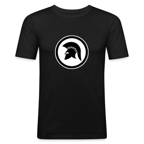 trojan Ska-reggae Zeichen - Männer Slim Fit T-Shirt