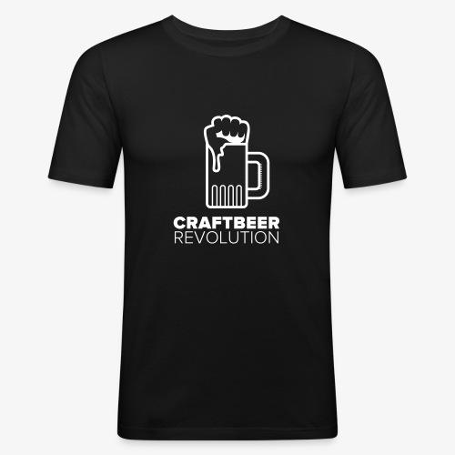 Craftbeer Revolution - Männer Slim Fit T-Shirt