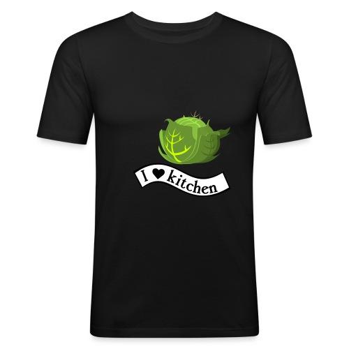 ilovekitchen-ts-6 - T-shirt près du corps Homme