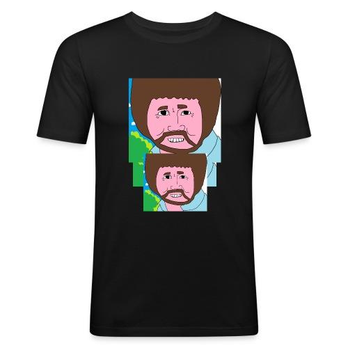 Bob Ross - Men's Slim Fit T-Shirt