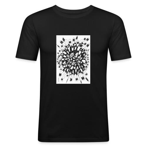 Nucléaire - T-shirt près du corps Homme