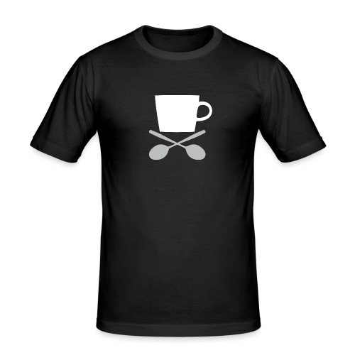 Coffee till I die - Mannen slim fit T-shirt