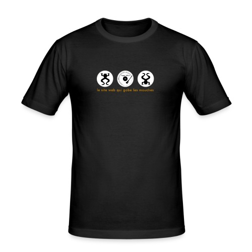 tshirt3 - T-shirt près du corps Homme