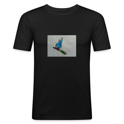 snowboard - Maglietta aderente da uomo