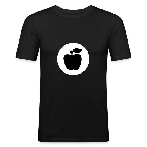 apfelfrontapfel - Männer Slim Fit T-Shirt