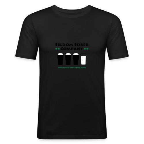 Bier und Milch - Männer Slim Fit T-Shirt