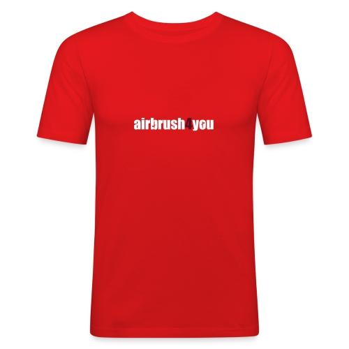 Airbrush - Männer Slim Fit T-Shirt