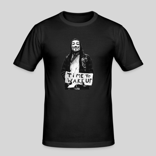 Time to wake up - T-shirt près du corps Homme