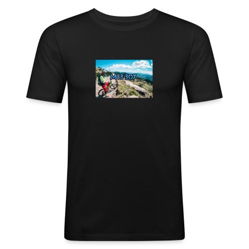 mtb hoddie - Men's Slim Fit T-Shirt