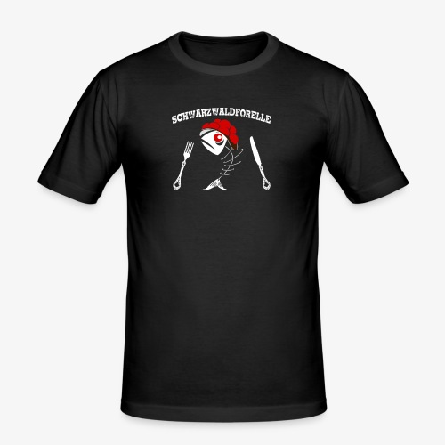 Forelle mal anders! - Männer Slim Fit T-Shirt