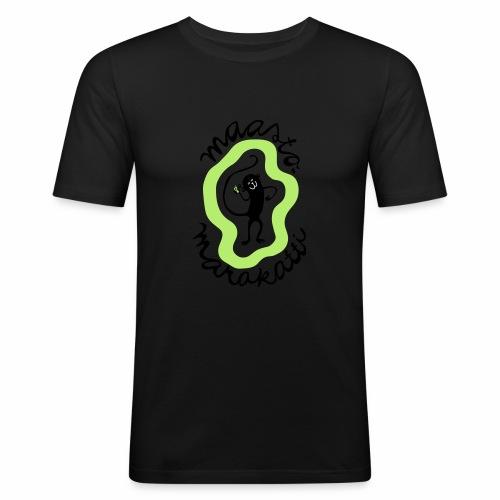 Maastomarakatti - Miesten tyköistuva t-paita