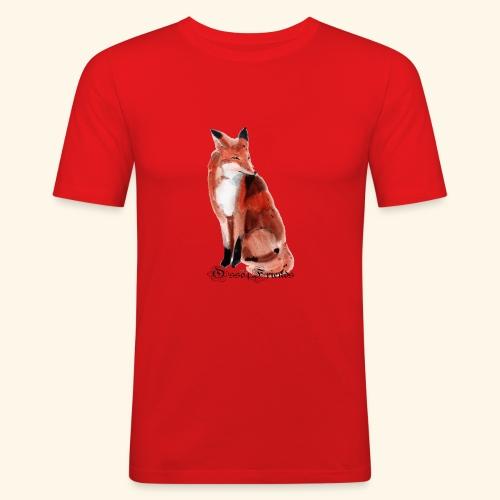 FOX - Maglietta aderente da uomo