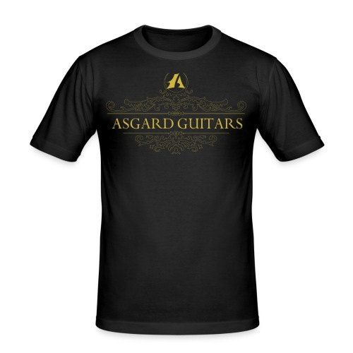 AGpaitakoukero old gold - Miesten tyköistuva t-paita