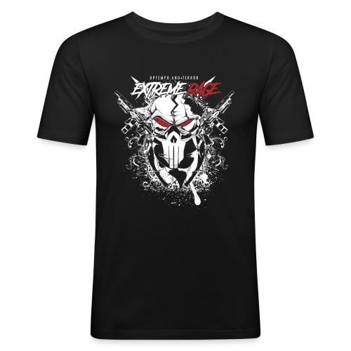 Extreme Rage LOGO - Men's Slim Fit T-Shirt