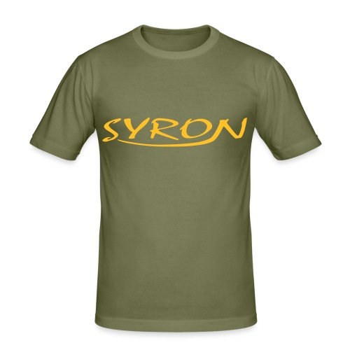 Syron - Männer Slim Fit T-Shirt