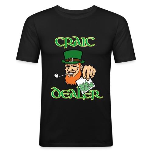 craic dealer for dark tshirts - Men's Slim Fit T-Shirt