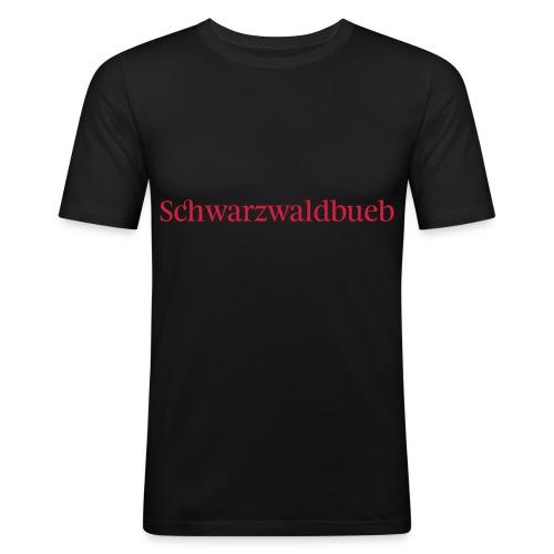 Schwarwaldbueb - T-Shirt - Männer Slim Fit T-Shirt