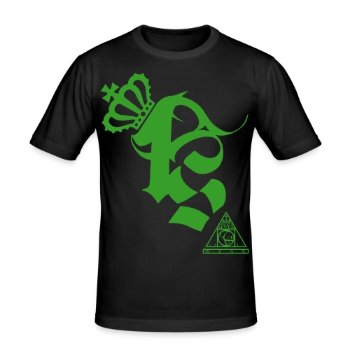 Twenty Seven Wear Logo - Männer Slim Fit T-Shirt