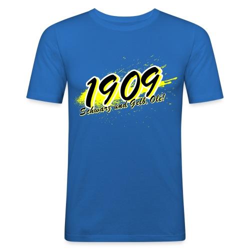 1909 Design - Männer Slim Fit T-Shirt
