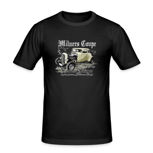 Milners Coupe - Männer Slim Fit T-Shirt