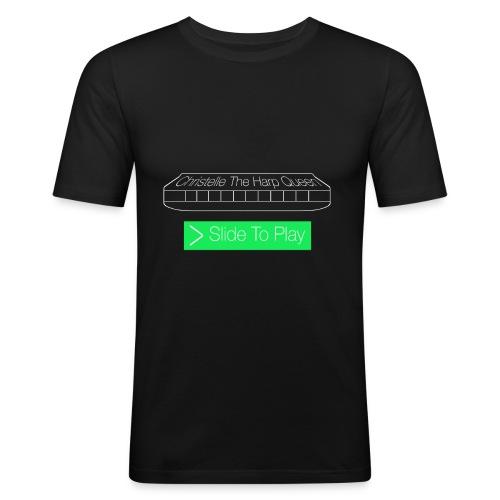 The Harp Queen T Shirt for men - Men's Slim Fit T-Shirt