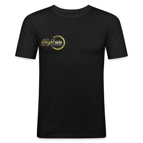 To The Bright Side - Logowear - Männer Slim Fit T-Shirt