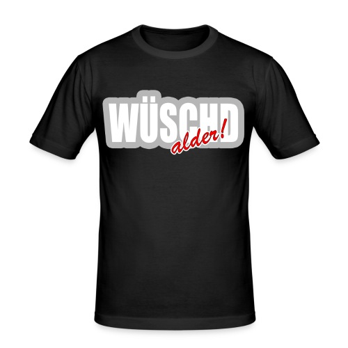 WÜSCHD alder - Männer Slim Fit T-Shirt