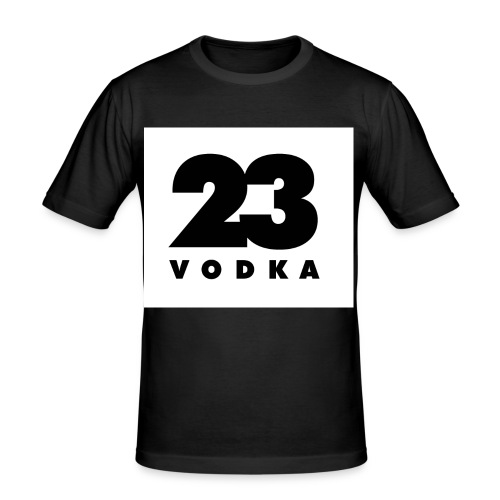 vodka23pixel - Männer Slim Fit T-Shirt