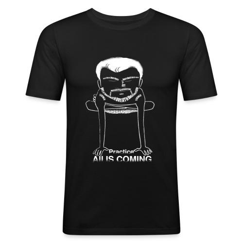 sharathnegative - Men's Slim Fit T-Shirt