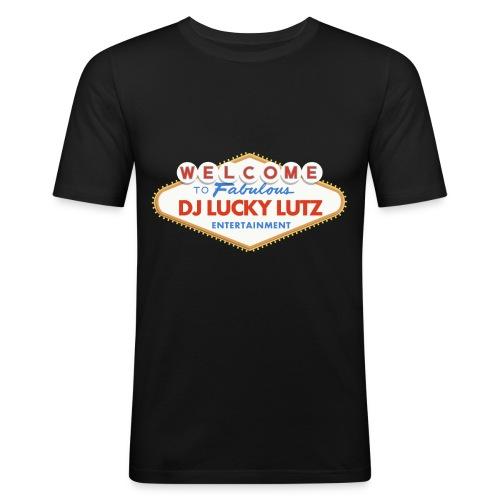 las lutz sign - Männer Slim Fit T-Shirt
