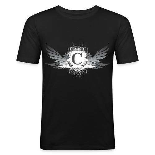 logocarterfondtransparent2 copie - T-shirt près du corps Homme