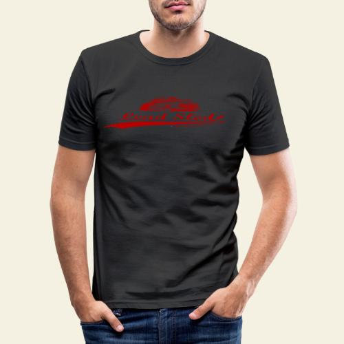 lead sled red - Herre Slim Fit T-Shirt