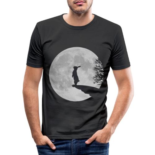 Wolfinchen hase kaninchen häschenosterhase bunny - Männer Slim Fit T-Shirt