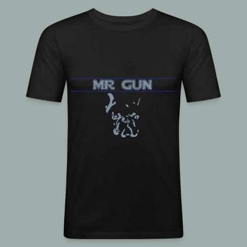 Mr Gun head - T-shirt près du corps Homme