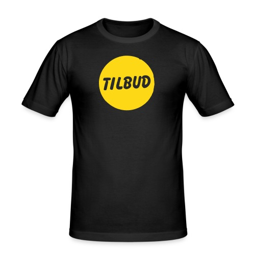 tilbudprint - Slim Fit T-skjorte for menn