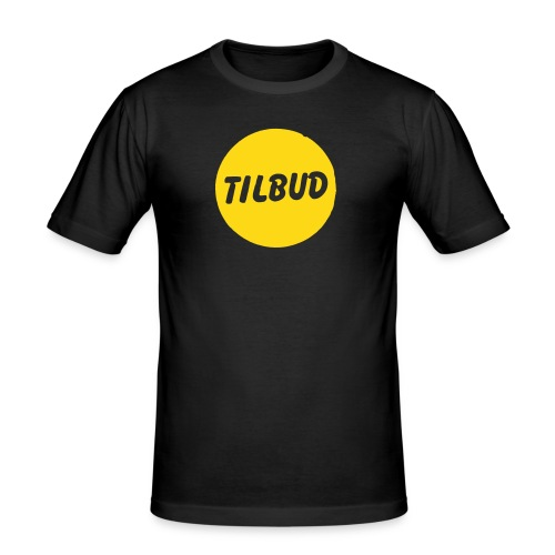 tilbudprint - Slim Fit T-skjorte for menn