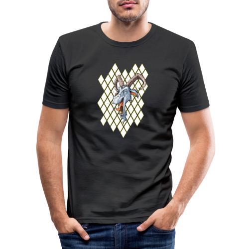 blauer bock - Männer Slim Fit T-Shirt