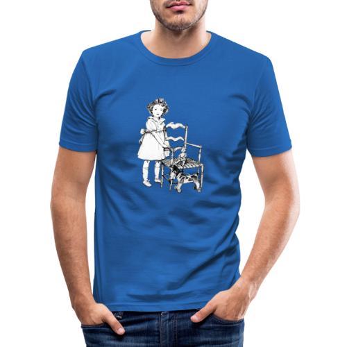 Nelly et sa chaise - T-shirt près du corps Homme