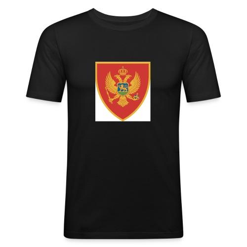 grb crna gora - T-shirt près du corps Homme