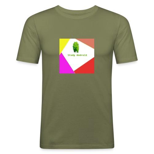 Study Android - Camiseta ajustada hombre
