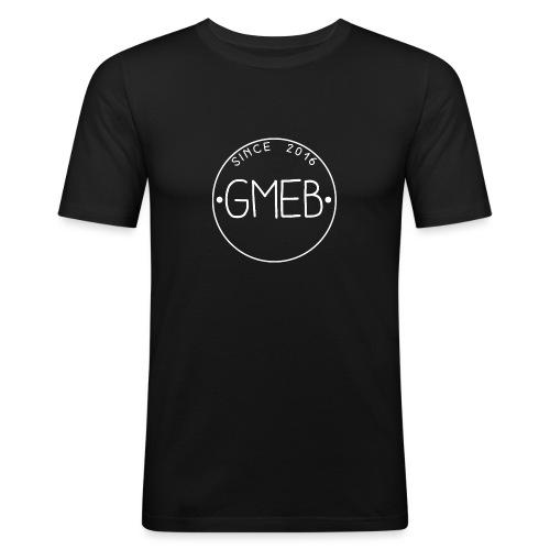 doorschijnend LOGO WIT - slim fit T-shirt