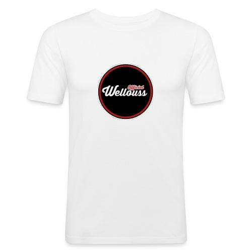 Wellouss Fan T-shirt | Rood - Mannen slim fit T-shirt