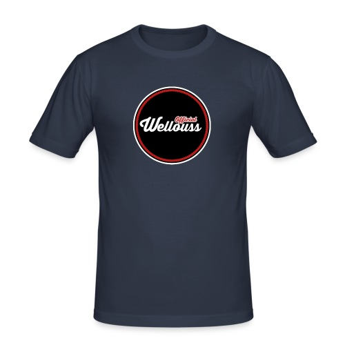 Wellouss Fan T-shirt | Rood - Mannen slim fit T-shirt