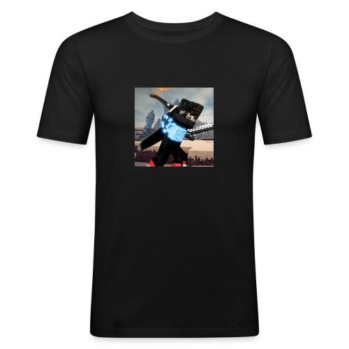 Pixel Kollektion #1 - Männer Slim Fit T-Shirt
