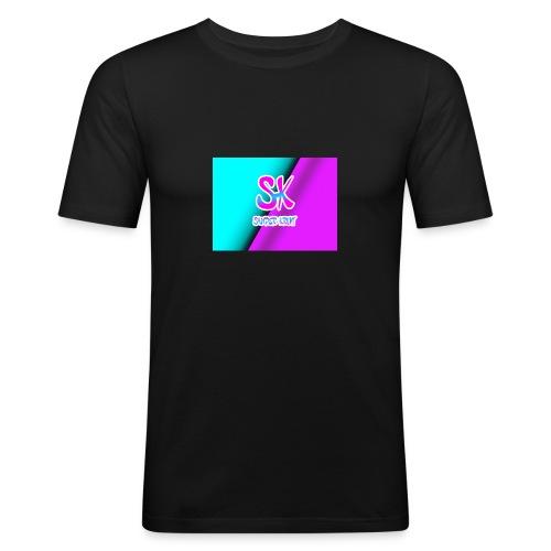 Sk Shirt - Mannen slim fit T-shirt